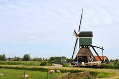 Stock Photo of windmill in holland