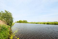 Stock Photo of dutch river