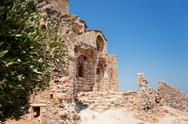 Stock Photo of monemvasia ayia sophia