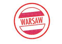 WARSAW - stock illustration