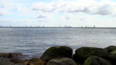 Sailing Boats Kiel Week 2013 3 Stock Footage