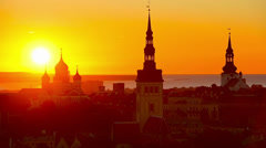 Tallinn, Estonia Stock Footage