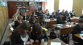 schoolchildren at the physics lesson 5 HD Footage