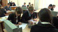 pupils in chemistry class 2 HD Footage