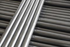 pipe steel - stock photo