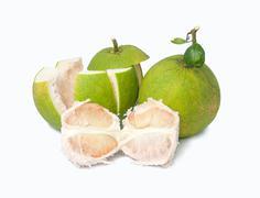 green pomelo - stock photo
