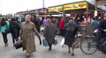 crowd of people at the market 5 HD Footage