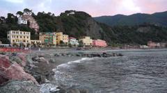 Coastal Scenes of Monterosso (8 of 32) Stock Footage