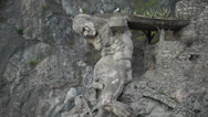 Stock Video Footage of Il Gigante Statue in Monterosso (1 of 2)