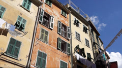 Scenes of Riomaggiore (1 of 6) Stock Footage
