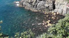 Coastal Riomaggiore (4 of 5) Stock Footage