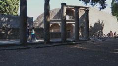 Scenes of Pompeii (11 of 23) Stock Footage