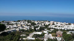 View from the Mount Solaro Chair lift on the Isle of Capri (7 of 7) Stock Footage