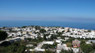 Stock Video Footage of View from the Mount Solaro Chair lift on the Isle of Capri (7 of 7)