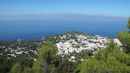 Stock Video Footage of View from the Mount Solaro Chair lift on the Isle of Capri (6 of 7)