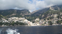 Scenes from the Amalfi Coast in Italy Stock Footage
