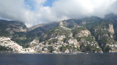 Views of the Amalfi Coast in Italy (1 of 2) Stock Footage