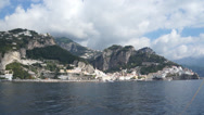 Stock Video Footage of Views of the Amalfi Coast in Italy (1 of 2)