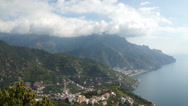 Stock Video Footage of Scenes from the Amalfi Coast in Italy
