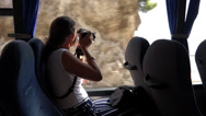 Stock Video Footage of Scenes from a bus ride along the Amalfi Coast (3 of 4)