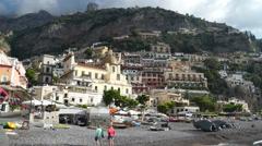 Scenes of Positano (7 of 8) Stock Footage