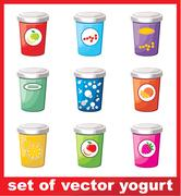 Yogurt Stock Illustration