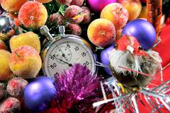 five seconds to new year - stock photo