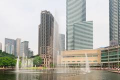 Järvi sinfonia suihkulähde Kuala Lumpurissa Kuvituskuvat