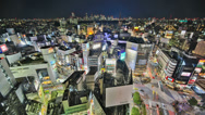 Stock Video Footage of Tokyo Cityscape Time Lapse HDR