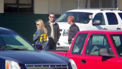 Sparks Middle School Shooting 10-21-13, Crime Scene Investigators Stock Footage