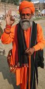 An Indian Saint Stock Photos