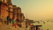 Stock Video Footage of Ganges river