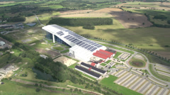 Solar Energy in Germany Stock Footage