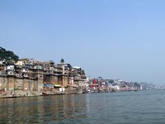 The River Ganga in Banaras12 Stock Photos