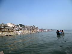 The River Ganga in Banaras10 Stock Photos