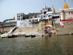 The River Ganga in Banaras6 Stock Photos