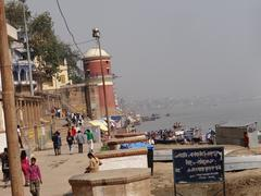 The River Ganga in Banaras3 Stock Photos