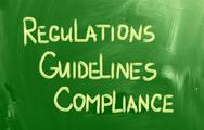 Stock Illustration of compliance guidelines regulations concept