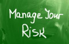 manage your risk concept - stock illustration