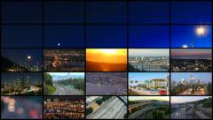 Video Montage City & Transporation Stock Footage