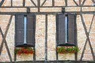 Stock Photo of lautrec (france), old village