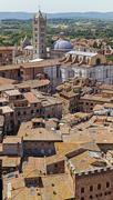 Siena Cathedral - Italy - stock photo