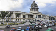 Stock Video Footage of Cuba Havana time lapse El Capitolio building