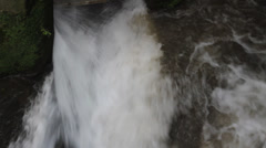 Waterfall of the river Stock Footage