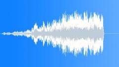Riser - abrupt stop chorus 3 Sound Effect