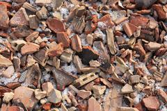 debris - stock photo