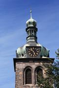 old belfry - stock photo