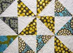 Stock Photo of patchwork quilt