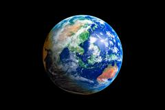Earth Globe Stock Illustration