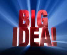 Stock Illustration of big idea!